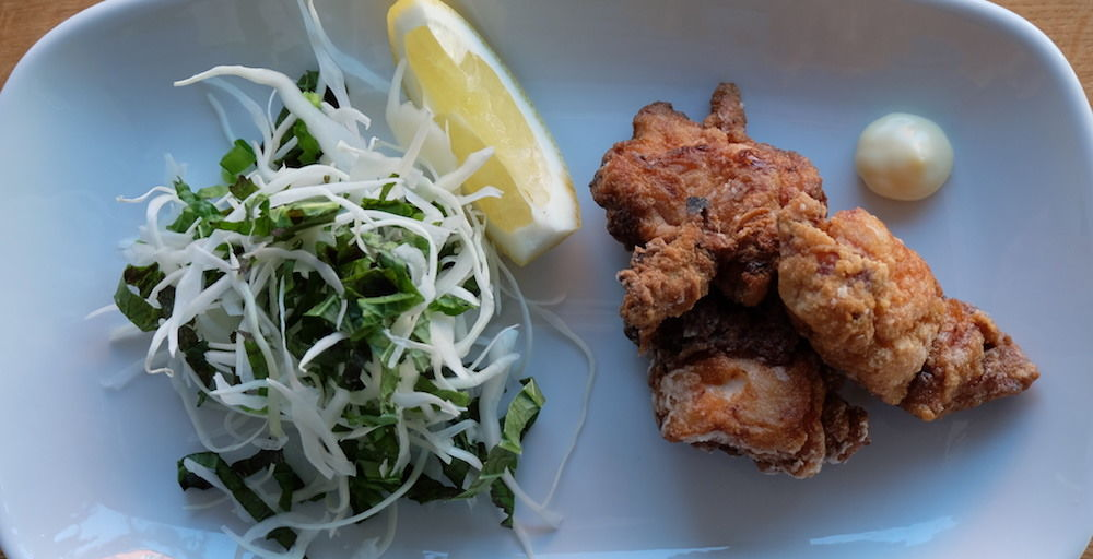 Karage, Asia Salad