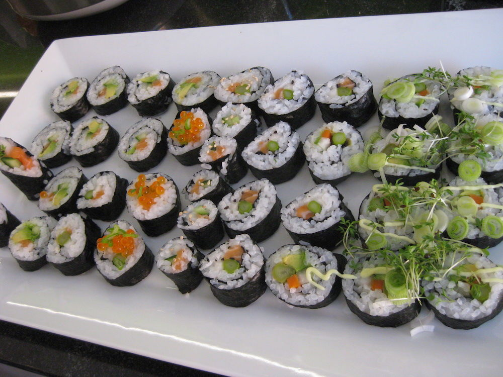 Maki rectangular side