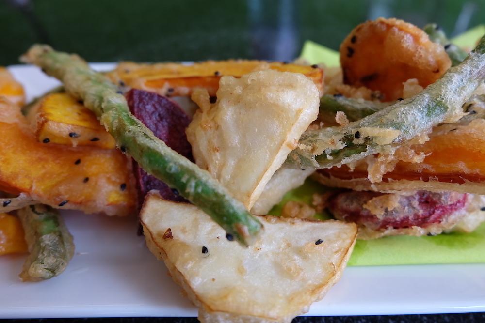 tempura-ausschnitt