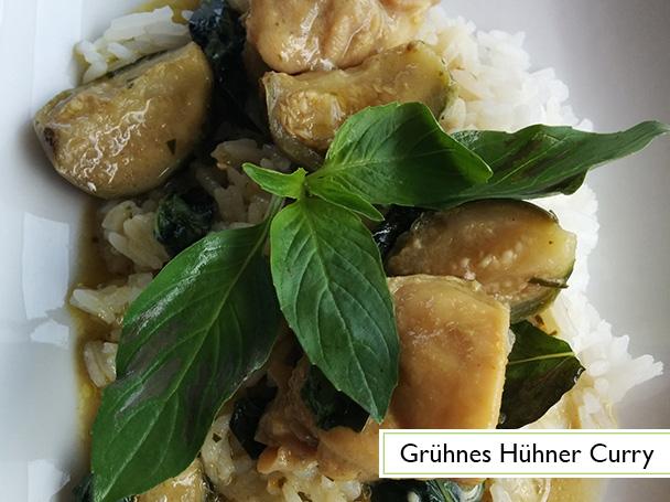 Grünes Hühner Curry