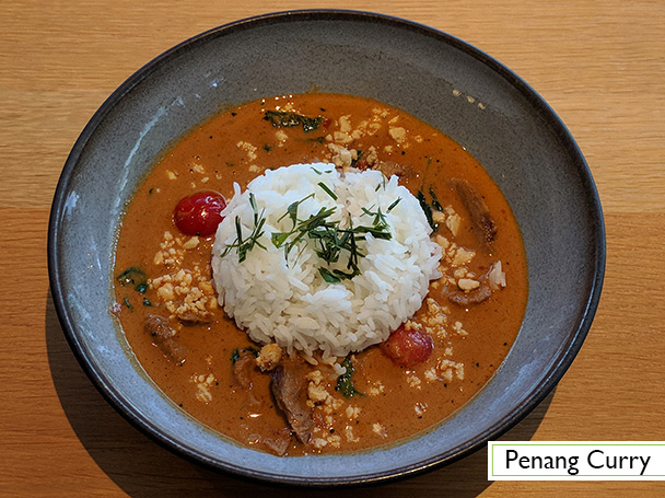 Menu: Penang Curry