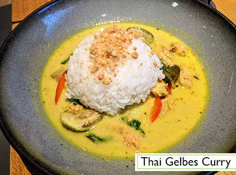Menu: Thai Gelbes Curry