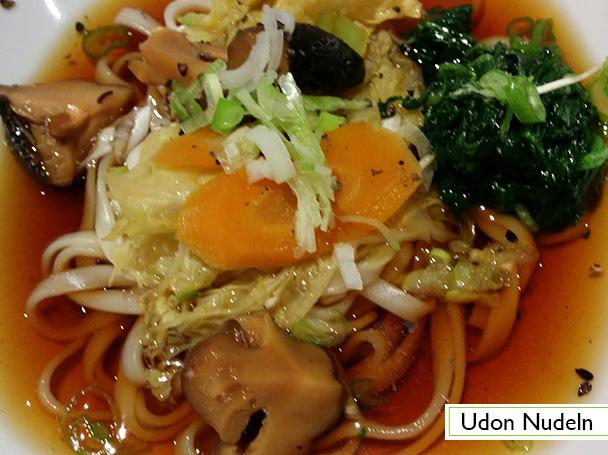 Menu: Udon Nudeln