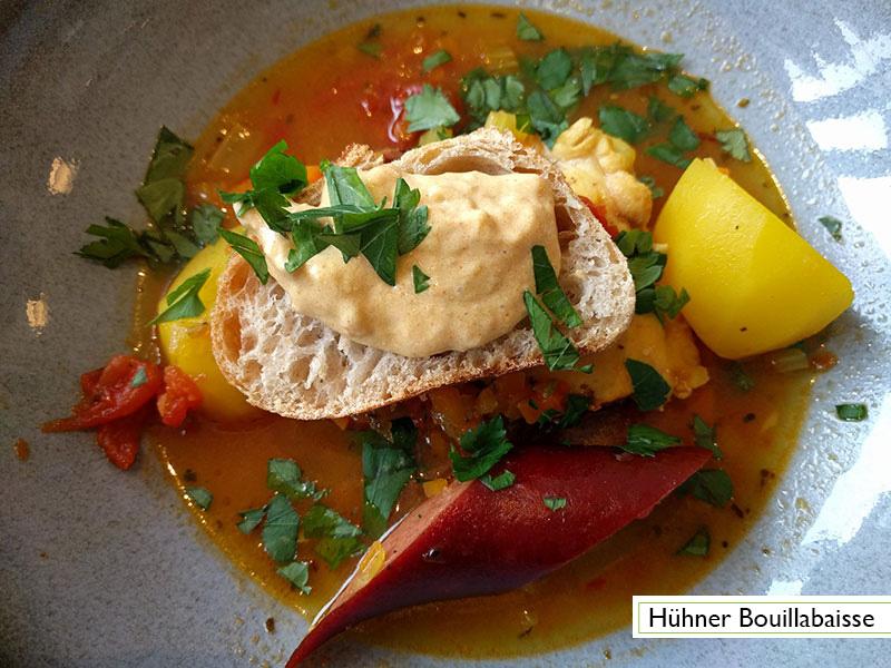 Menu: Hühner Bouillabaisse